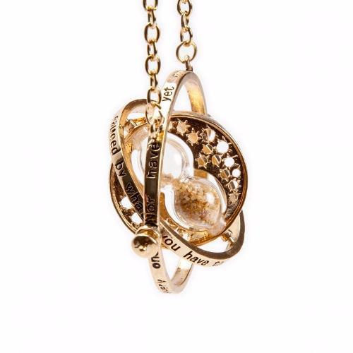2 Collar Giratiempo Oro Harry Potter Gold + Envio Gratis