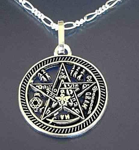 Cadena Y Dije De Tetragranaton En Plata Sterling Ley,925
