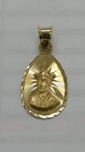 Cadena Y Medalla San Ignacio De Loyola Oro 10 Kilates