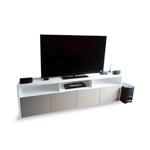 Centro De Entretenimiento Mod Belice Muebles Tv Para Sala