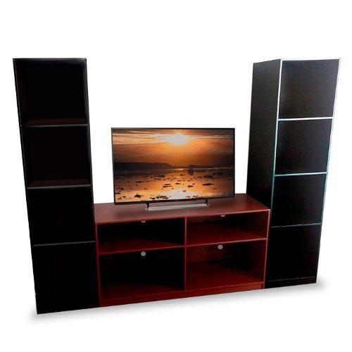 Centro De Entretenimiento Mod Gante Muebles Tv Para Sala