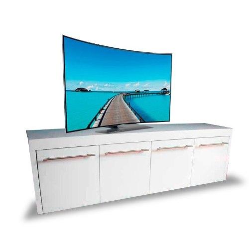 Centro De Entretenimiento Mod Placencia Muebles Tv Para Sala