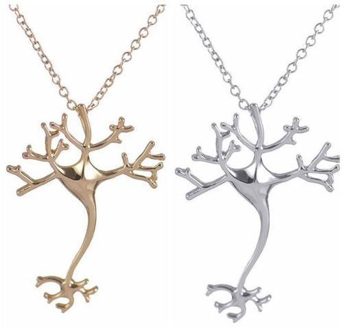 Collar De Neurona Para Biólogos, Psicólogos, Envío Gratis