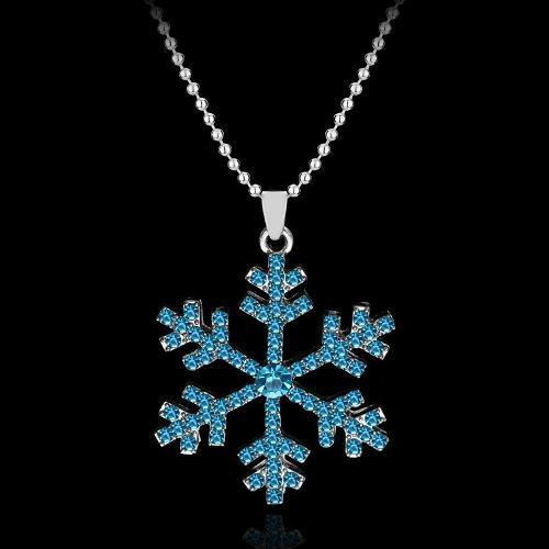 Collar Frozen Copo De Nieve Elsa Envio Gratis
