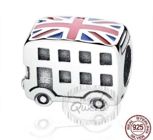 Dije Charms 100% Plata Compatible Pandora Bus Londres London