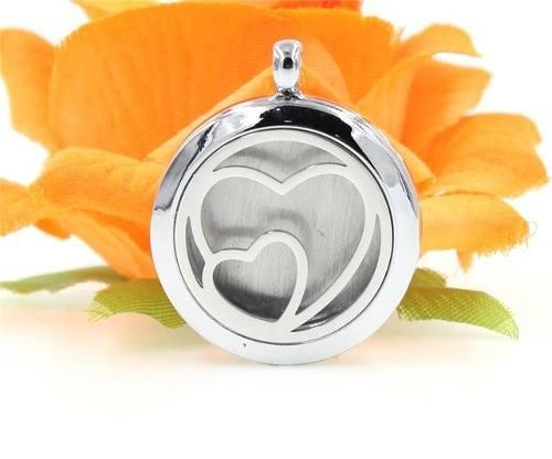 Dije Con Cadena Difusor Aceites Perfume Om Yoga Meditación