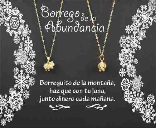 Dije De Borrego De La Abundancia Marelo