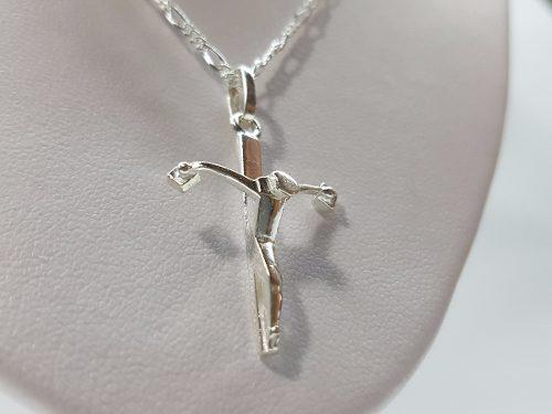 d9e7f201d723 Dije de cristo plata ley.925 con cadena joyeria