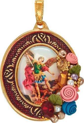 Dije De Joyería Artesanal San Miguel Arcángel
