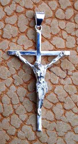 Dije De Plata Cristo Grande