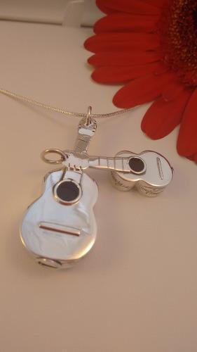 Dije Guitarra Para Guardar Cenizas De Un Ser Querido
