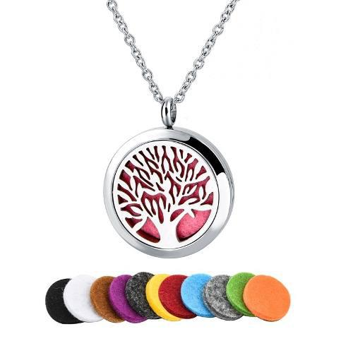 Dije Árbol De La Vida Ak Jewelry Aroma Multicolor Regalo