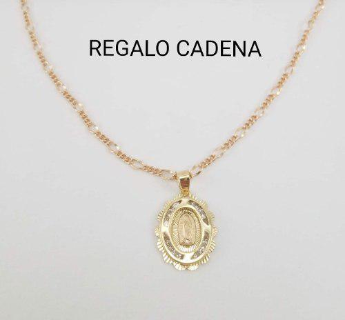 Hermosa Medalla Virgen Oro 10k Sólido Primera Comunión