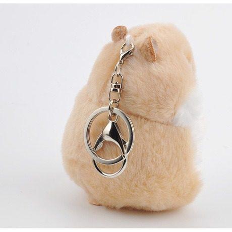 Hermoso Llavero Hamster Envío Gratis Amor Y Amistad