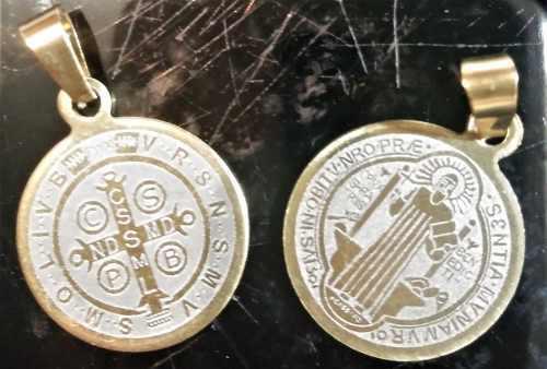 Medalla Brillante, De San Benito De 2.0 Cm