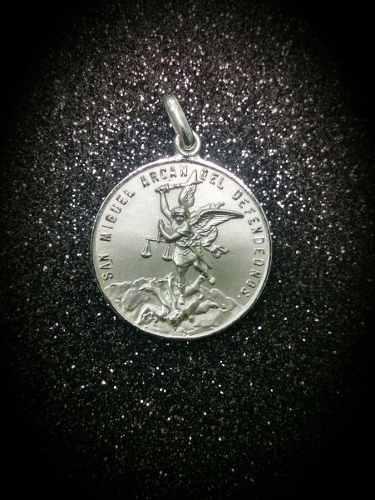 Medalla En Plata.925 San Miguel Arcángel M334