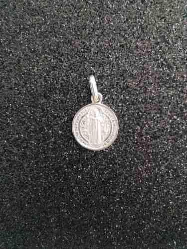 Medalla Plata 925 San Benito #184