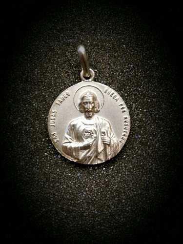 Medalla Plata 925 San Judas Tadeo