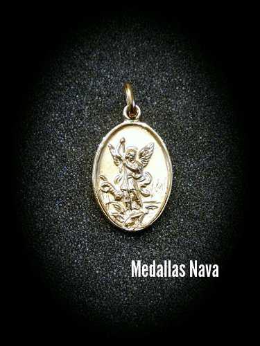 Medalla San Miguel Arcangel Au10#973
