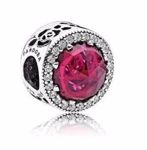 Pandora Charm Rosa Radiante De Bella