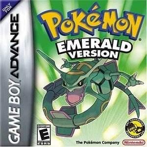 Pokemon Emerald Version Solo Caja E Instructivo.