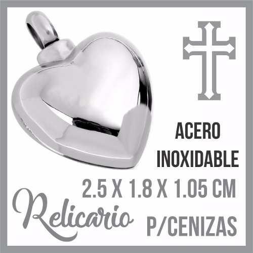 R3 Relicario Corazon Cenizas Cremacion Urna Funeraria