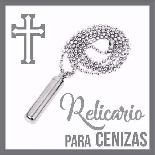 R5 Relicario Cenizas Cremacion Urna Collar Funeraria C7