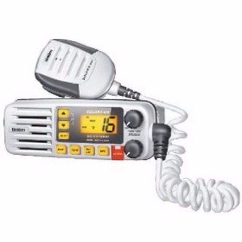 Radio Vhf Marino De Base Uniden Solara Dsx Um380 Blanco