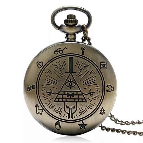 Reloj Vintage Gravity Falls Envío Gratis Dhl Collar