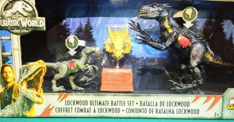 "SET DE JURASSIC WORLD ""Lockwood Ultimate Battle Set"""
