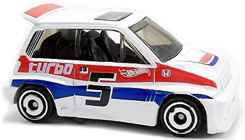 85 Honda City Turbo Ii Fjv43 Hot Wheels Mattel