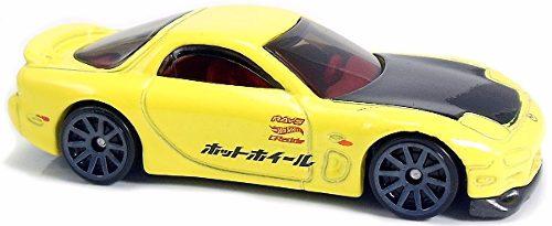 95 Mazda Rx-7 Fjx67 Hot Wheels Mattel Colección