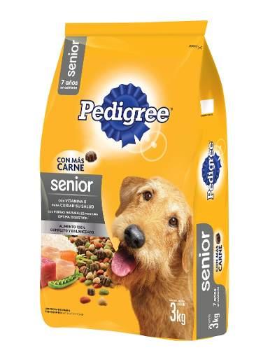 Alimento Para Perro Pedigree Adulto Mayor Vida Plena 3 Kg