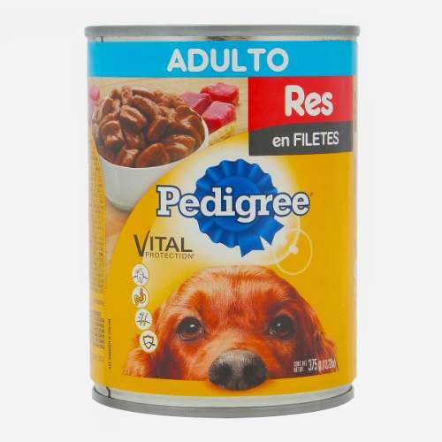 Alimento Para Perro Pedigree Adulto Res 375 Gr