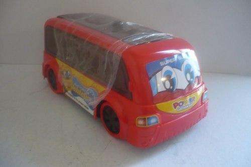 Autobus De Pasajeros - Camioncito D Juguete Con Luz Y Sonido