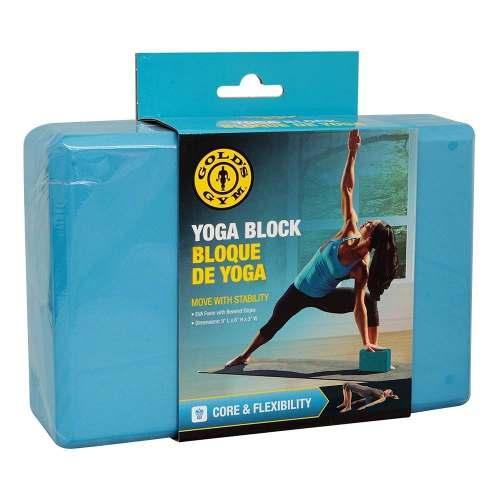 Bloque Profesional De Yoga Golds Gym Goma Eva Biselada