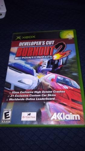 Burnout 2 Xbox Clasico Compatible Xbox 360