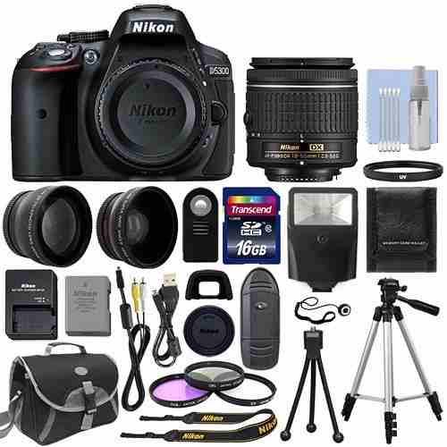 Cámara Nikon Dmm Kit, Flash Telefotos +