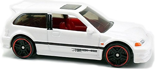 Coleccionable 90 Honda Civic Ef Hot Wheels Dvb00 Multicolor