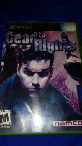 Dead To Rights Xbox Clasico