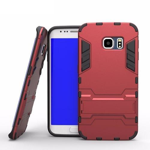 Funda Case Anti Golpes Galaxy S5 S6 S7 S8 S9 Flat Edge Plus