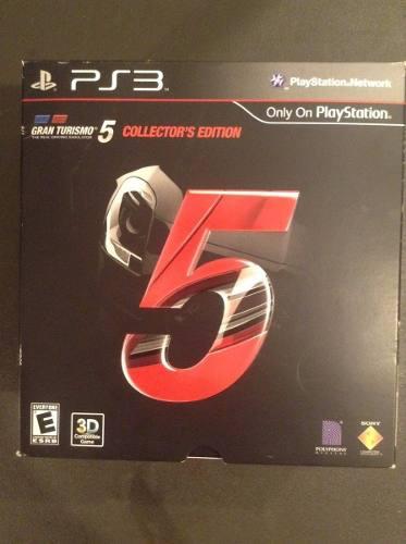 Gran Turismo 5 Edición De Colección Ps3