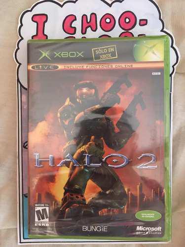 Halo 2 Nuevo Xbox Clásico Sellado Fabrica 360