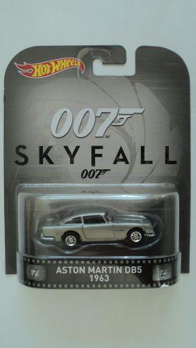 Hot Wheels Retro 007 Aston Martin Db Env Gratis