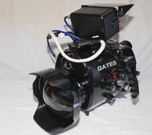 Housing Gates, Caja Estanca, Underwater video, Camera Video,