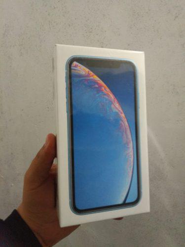 Iphone Xr Azul 64gb Nuevo Sellado