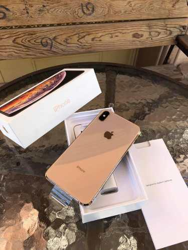 Iphone Xs Max 64 Gb Gold-dorado Libres De Fabrica