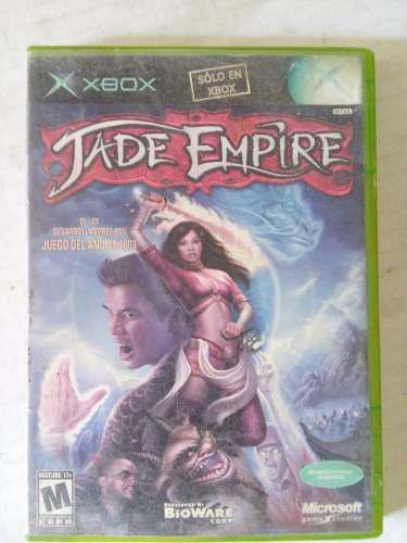 Jade Empire Xbox Original Clasico Trqs