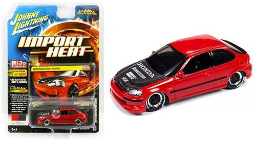 Johnny Lightning Mijo Exclusive - Honda Civic  Rd