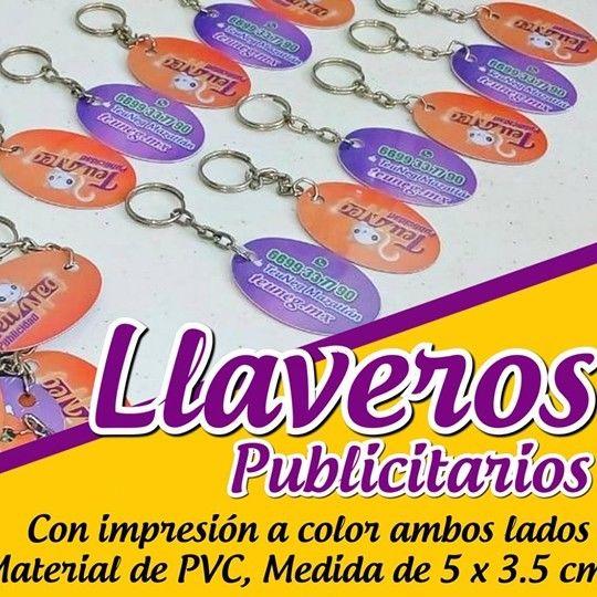 LLAVEROS PUBLICITARIOS